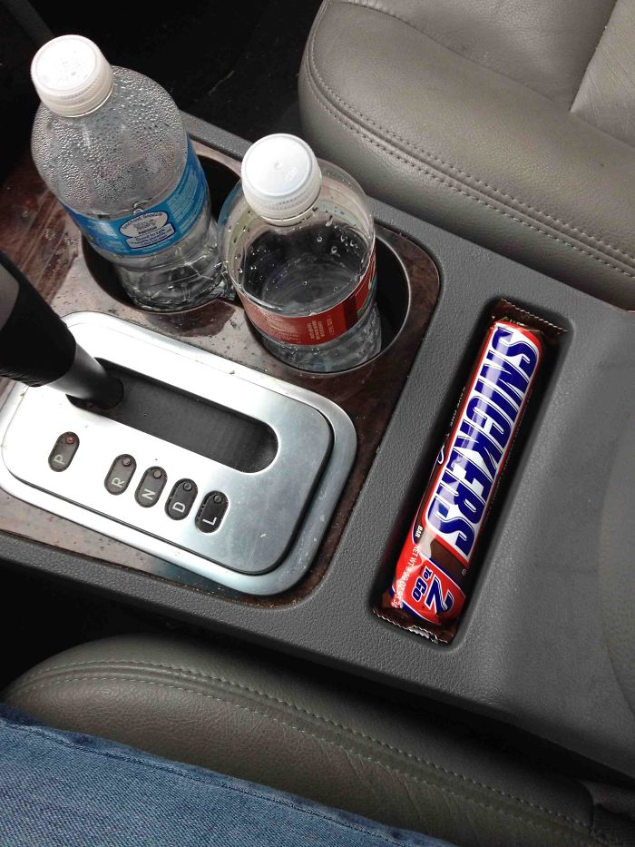 I Finally Found Out What That Little Slot In The Car Was For