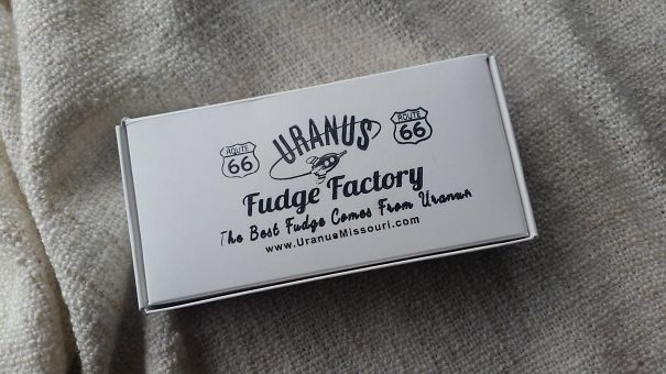 Mother-In-Law Brought Us Some Fudge From Uranus