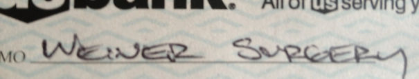 Before My Uncle Died He Wrote Me A Check For My Birthday, With One Last Joke Thrown In. He Passed On April Fools Day