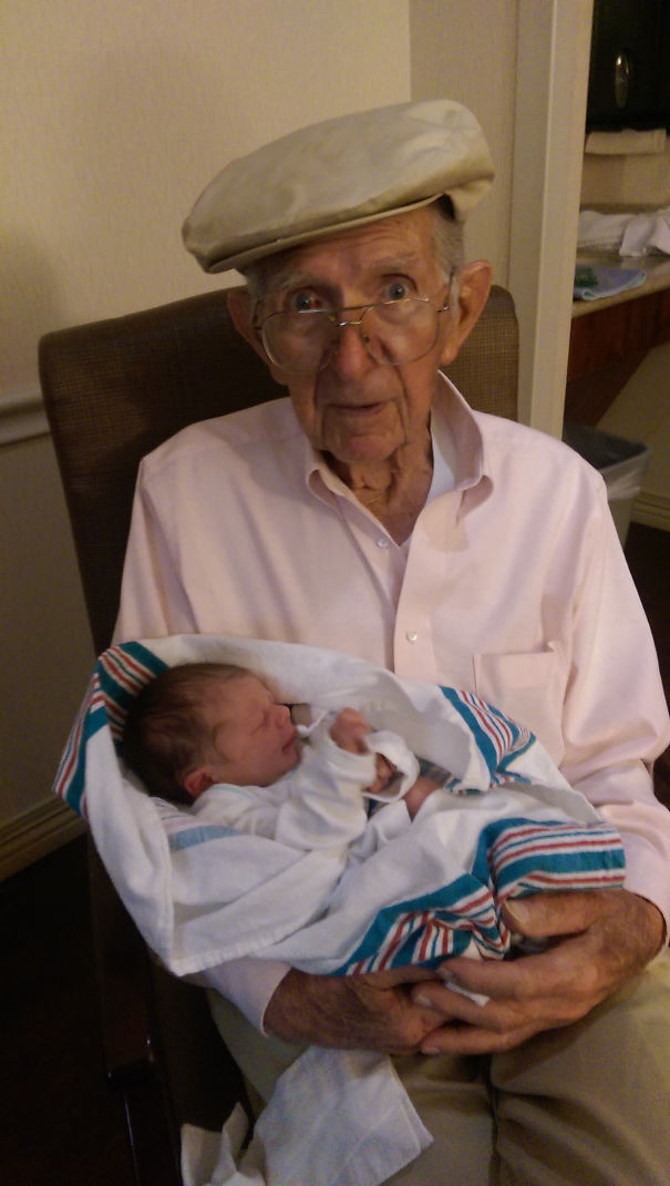 My Grandfather (94) And My Son, His Namesake (24 Hours)
