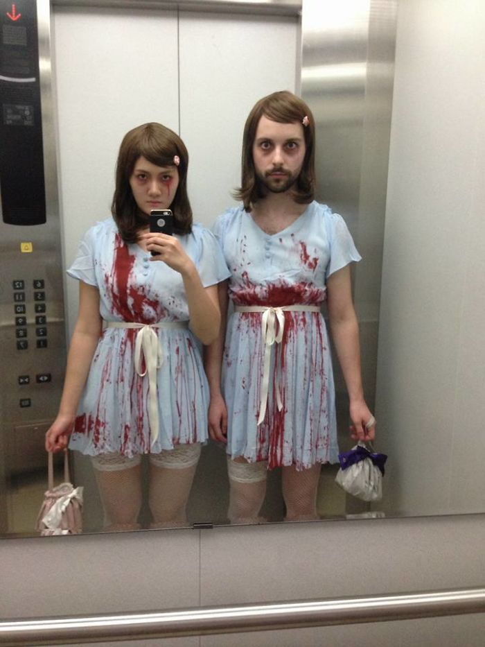 My Girlfriend And I Attempted Our First Couple's Costume This Halloween. I Think We Did A Pretty Good Job With It