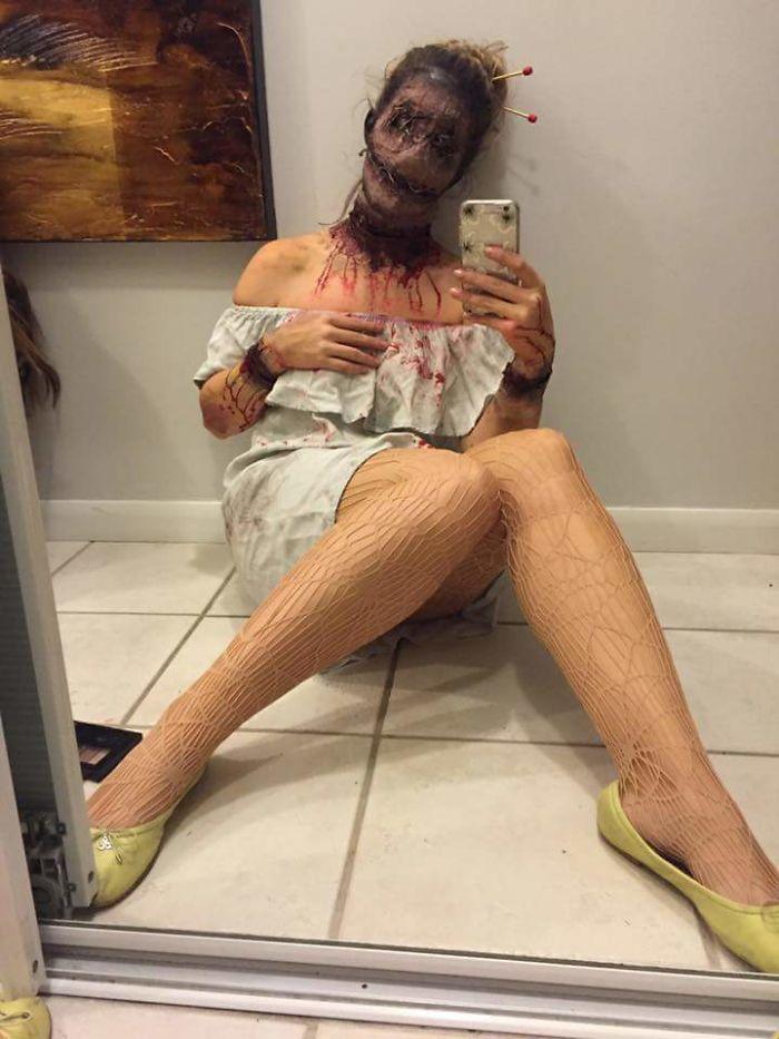 Friend's Costume Had Me Terrified All Night!