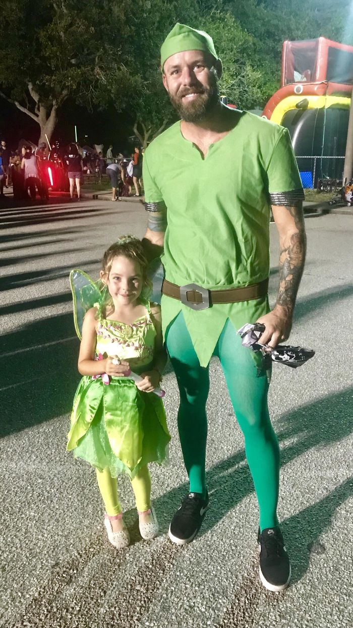 Wanted To Share A Pic Of Me And My Daughter's Halloween Costumes