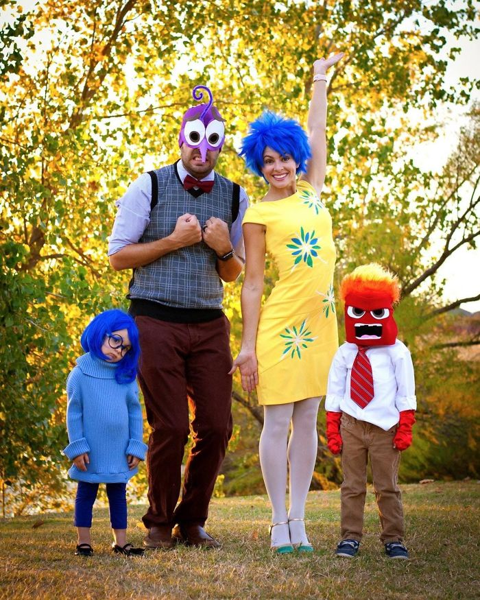 Turned Our Closets Inside Out Making These Costumes