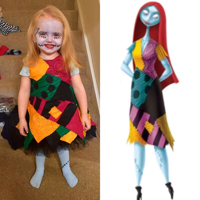 Wife's First Attempt At Making A Costume For Our Daughter