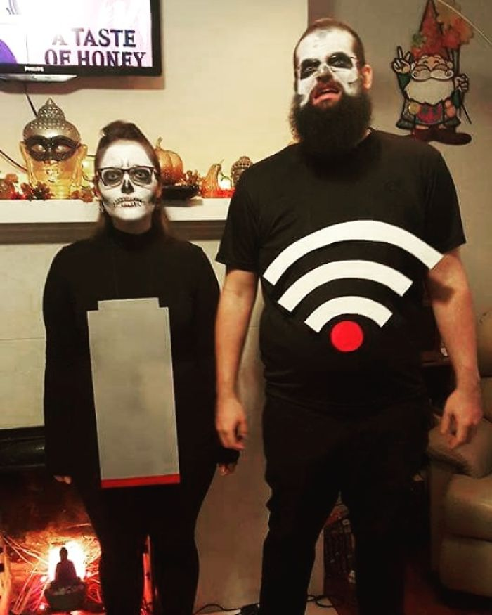 Frightening Couples Costume