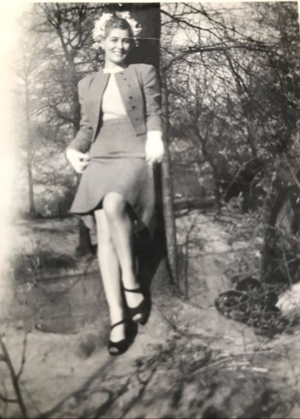A Photo Of Herself That My Grandmother Sent To My Grandfather When He Was Away At War, 1943
