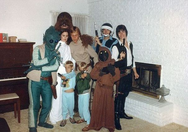 My Family Knew How To Star Wars Back In The Day