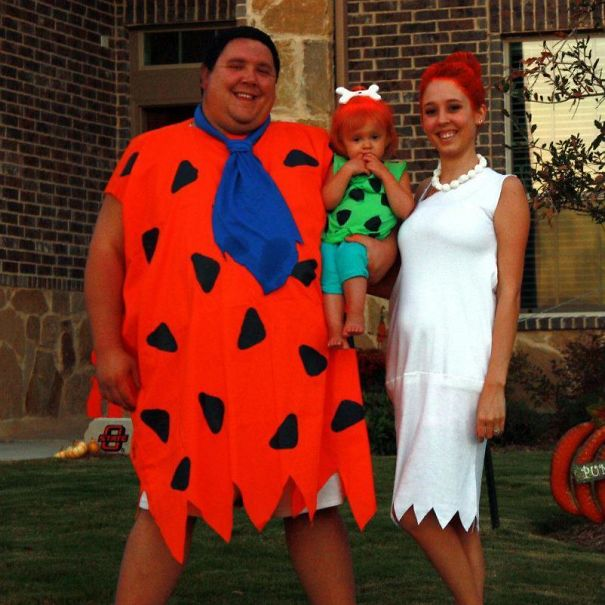 My Little Family And I In Our Halloween Costumes