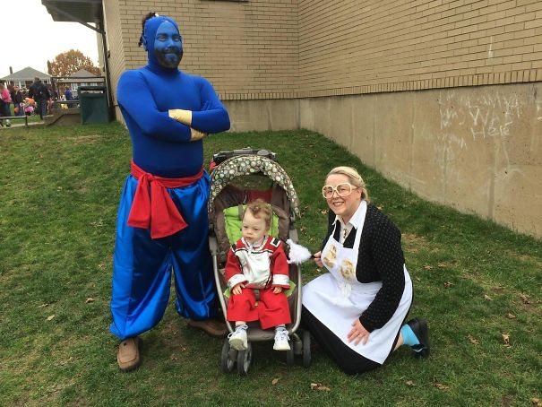 Our Family's Robin Williams Tribute Theme Halloween Costumes