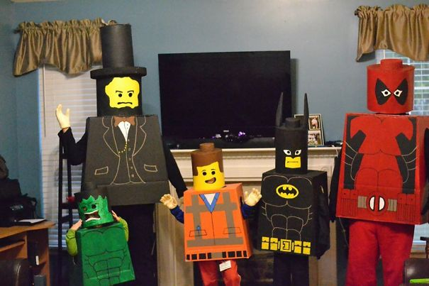 My Lego Family For Halloween
