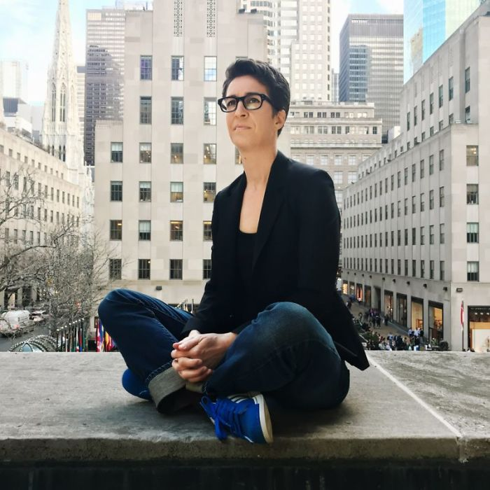 Rachel Maddow - First Openly Gay Anchor To Host A Prime-Time News Program