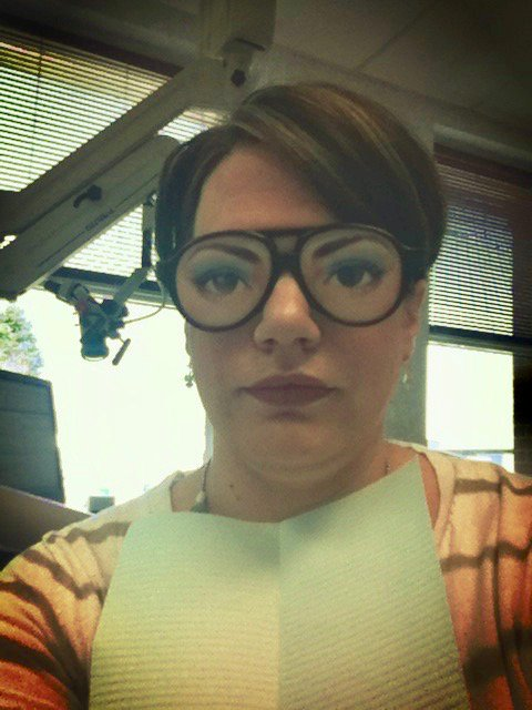 My Dentist Had Me Wear These Glasses During A Root Canal