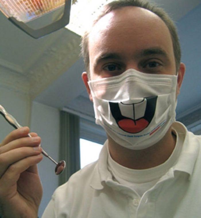 La máscara de mi dentista