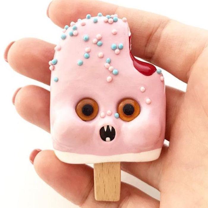 I Create Cute Food Creatures