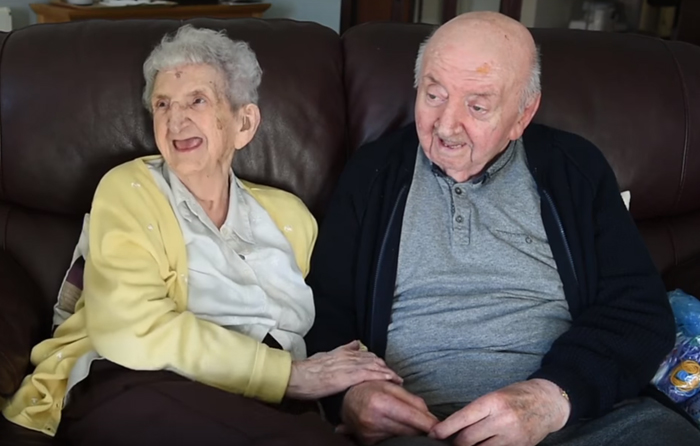 """Mom, 98, Moves Into Care Home To Look After Her 80-Year-Old Son Because """"You Never Stop Being A Mum"""""""
