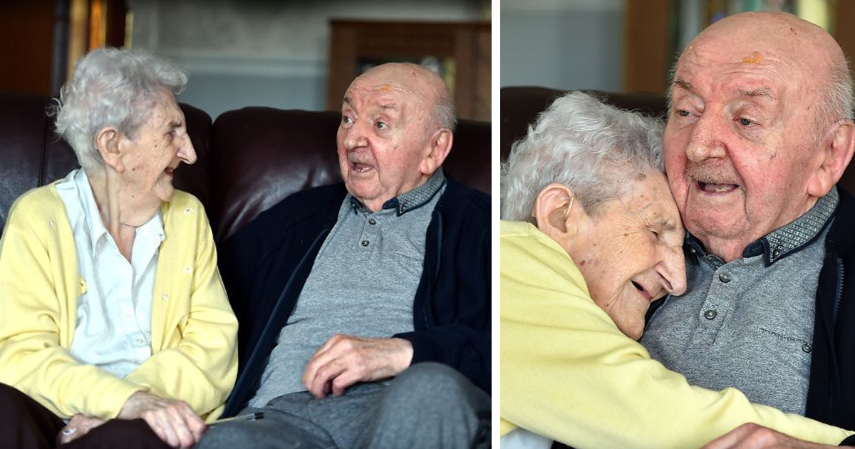 Mom, 98, Moves Into Care Home To Look After Her 80-Year-Old Son Because ?You Never Stop Being A Mum?