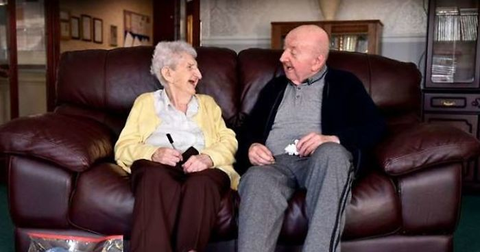 Mom 98 Moves Into Care Home To Look After Her 80 Year