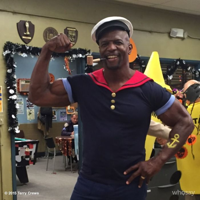 Terry Crews As Popeye