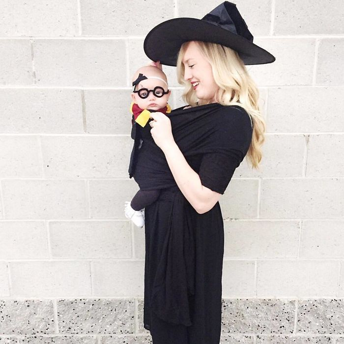Since Having A Baby, Halloween Might Just Be My New Favorite Thing. Meet Baby 'Harr-Ietta Potter'