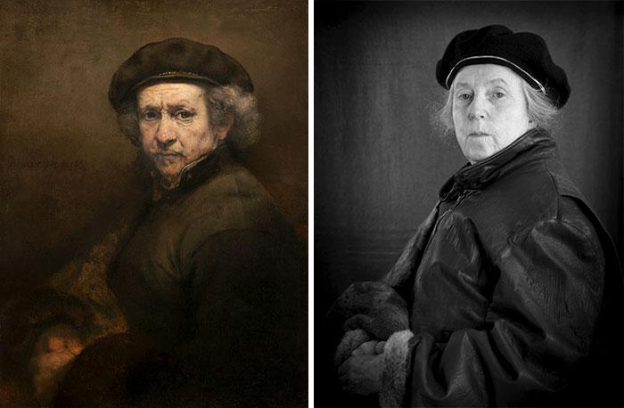 Self Portrait – Rembrandt