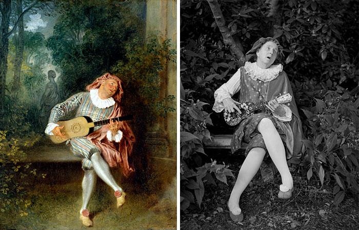 Mezzetin – Jean-Antoine Watteau