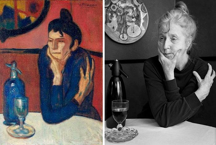 Absinthe Drinker – Pablo Picasso