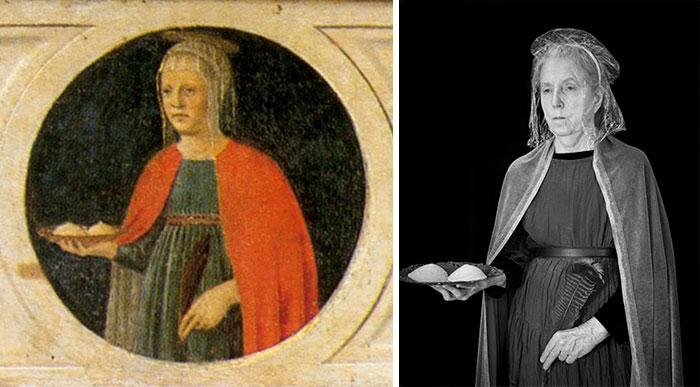 St Agatha – Piero Della Francesca