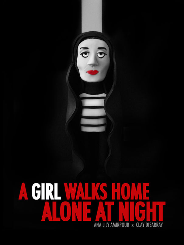 A Girl Walks Home Alone At Night (Ana Lily Amirpour, 2014)