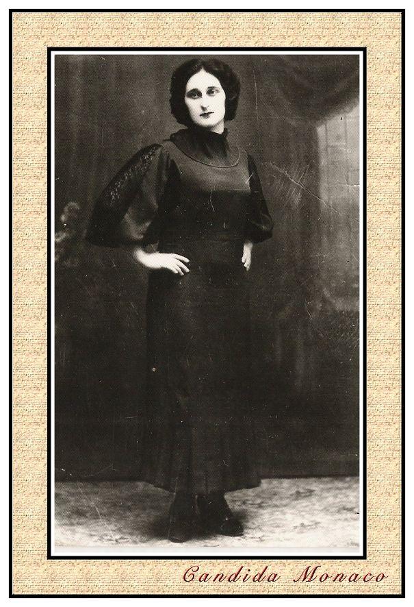 My Grandmother Candida Monaco - 1920