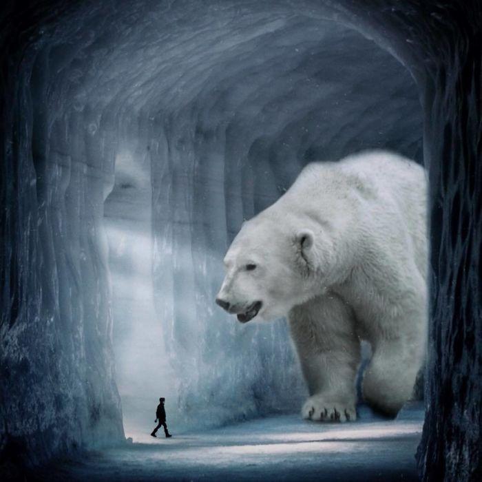Мир с гигантскими животными