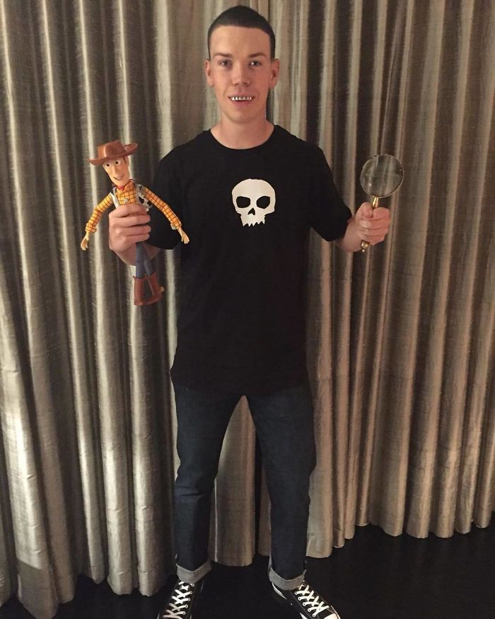 Will Poulter As Sid From Toy Story