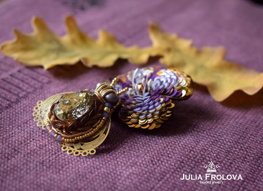 Beetles Reunion: Beaded Insects By Julia Frolova