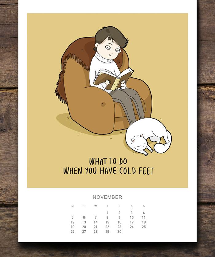 Cats Wall Calendar 2018