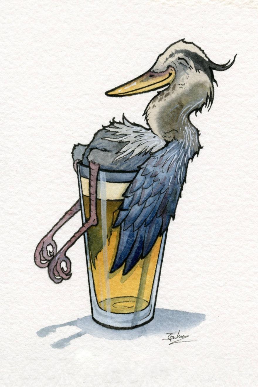 Haggard Heron Hefeweizen