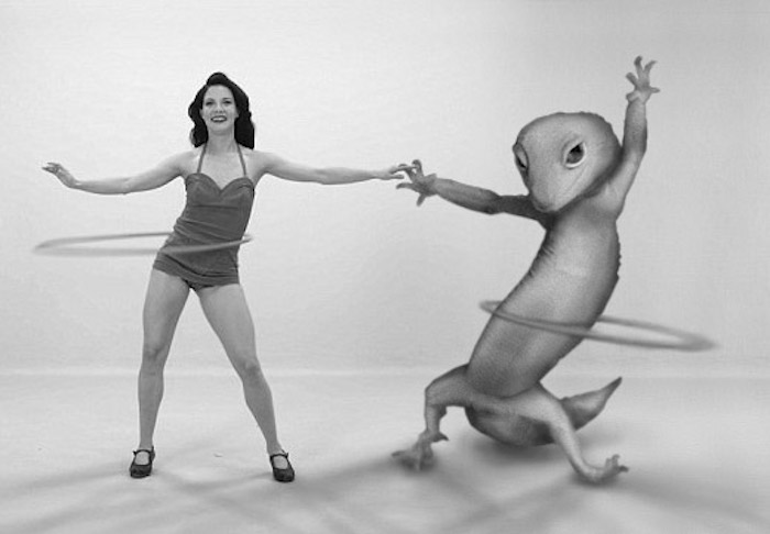 Hula Hoop Gecko From The 50s
