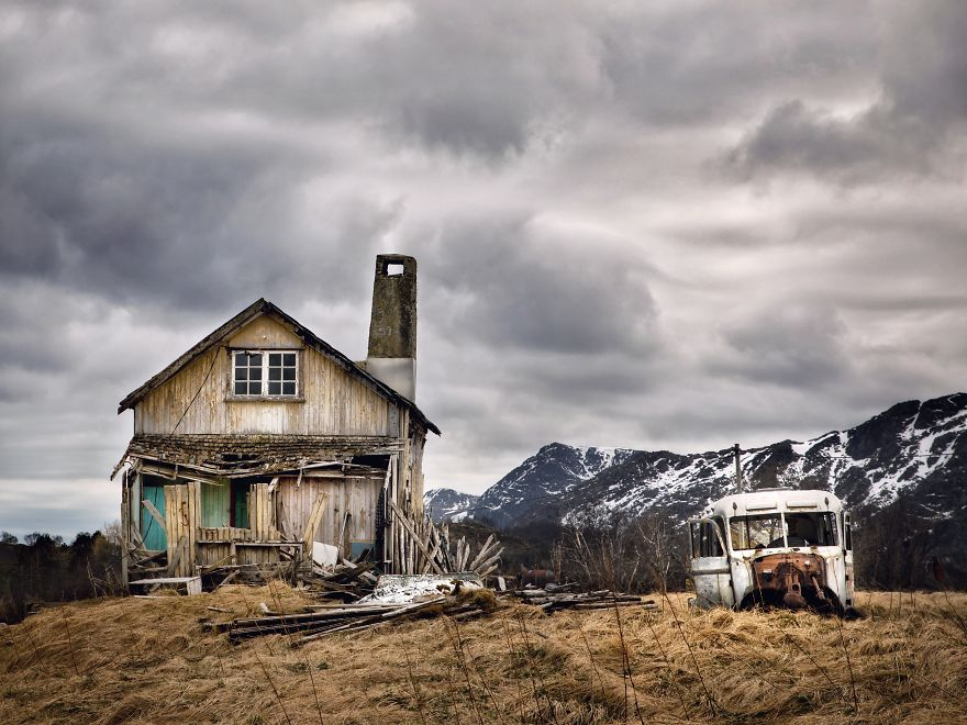I Documented The Abandoned Houses Above The Arctic Circle (Part 2)