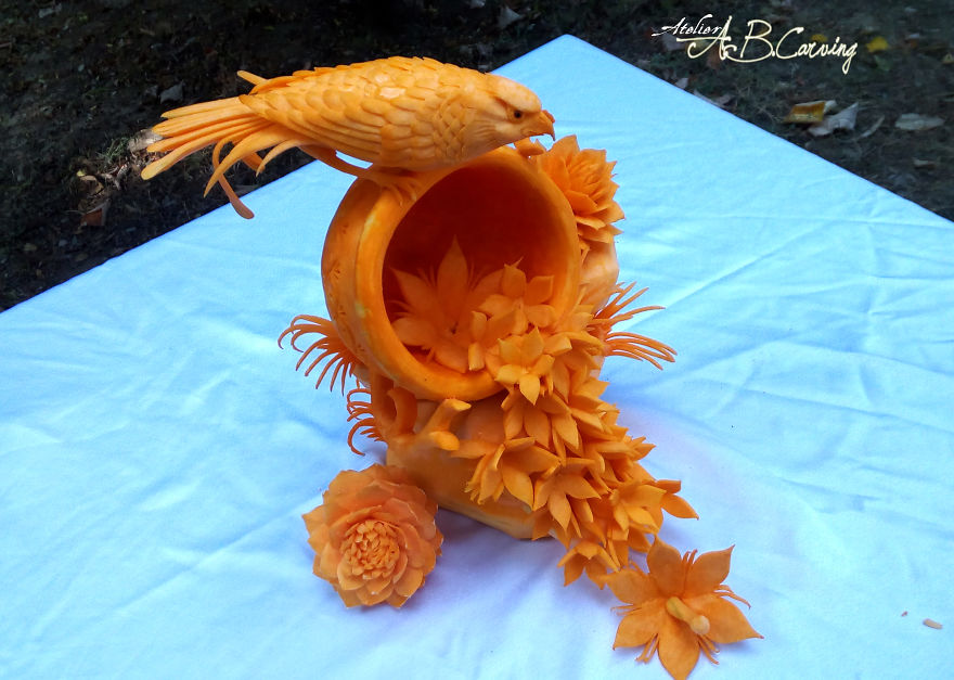 15 Alternative Halloween Pumpkins Carved By Master Angel Boraliev