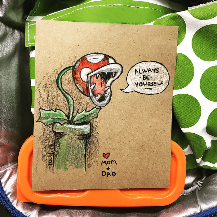 I Make Lunchbox Doodles For My Son Everyday For School. Here Is The First 12 Days!