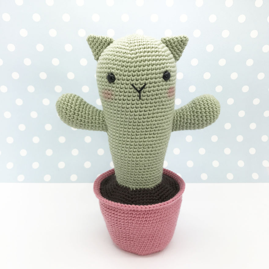 The Catcus - A Crochet Pattern
