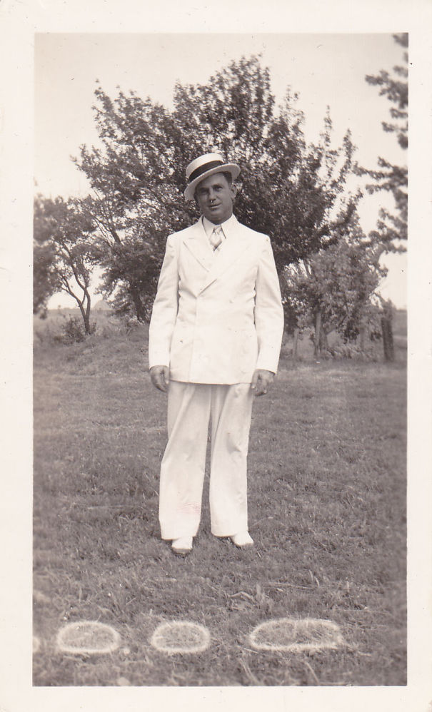 My Dad, Check Out The Spats!