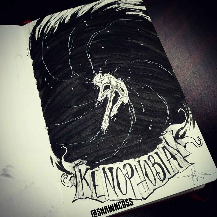 Kenofobia: miedo al vacío, a los espacios vacíos