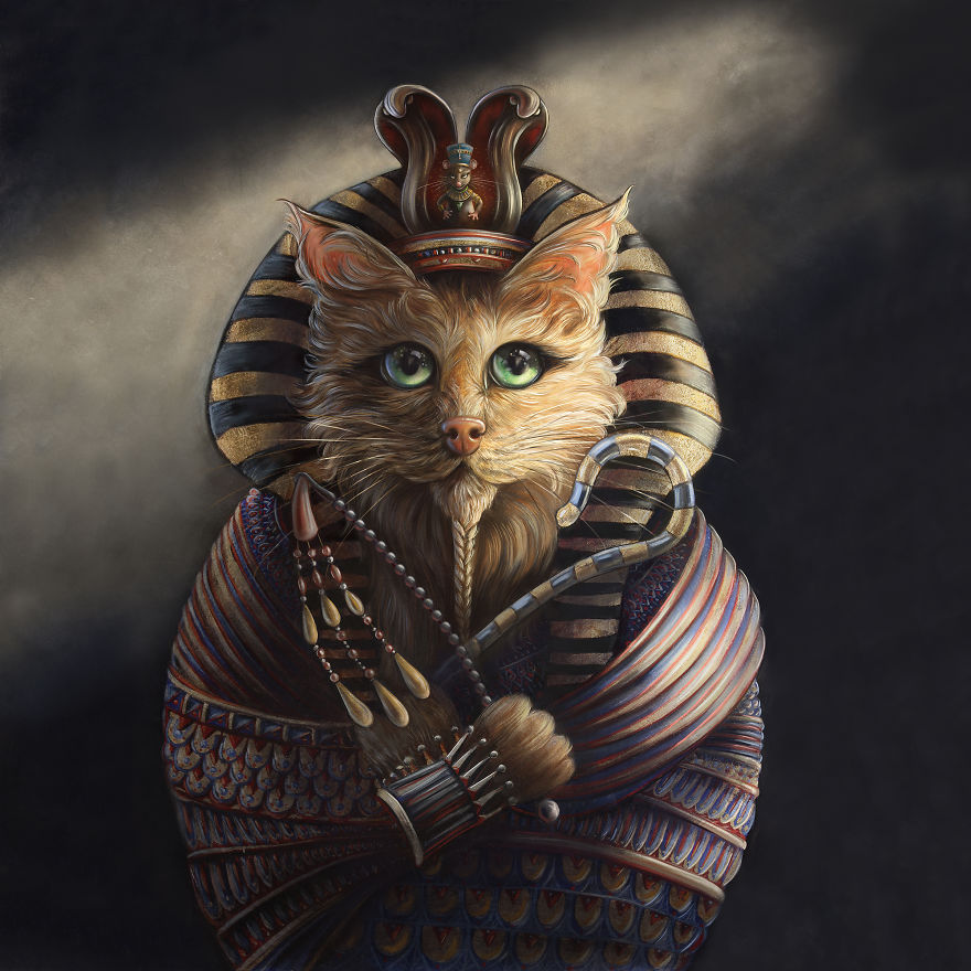 King Tutankhameaow