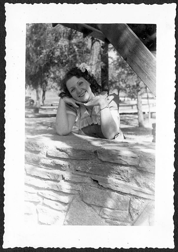 My Grandmother, Lillian, 1930s, Working The Cheesecake