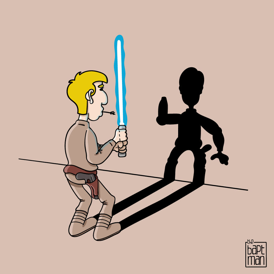 Lucky Luke Skywalker