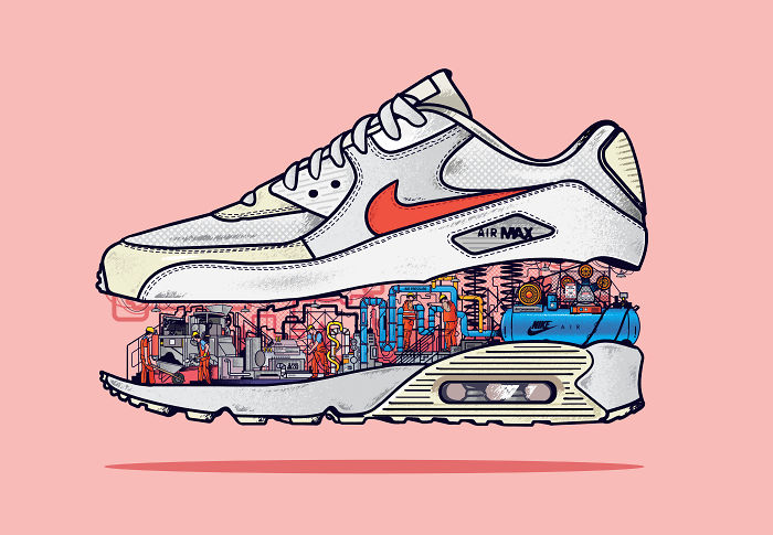 This Is What's Really Going On Inside Your Nike Air Max