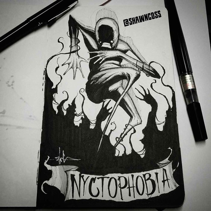 Nyctophobia – The Fear Of The Dark