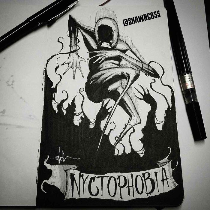 Nictofobia: miedo a la noche y a la oscuridad