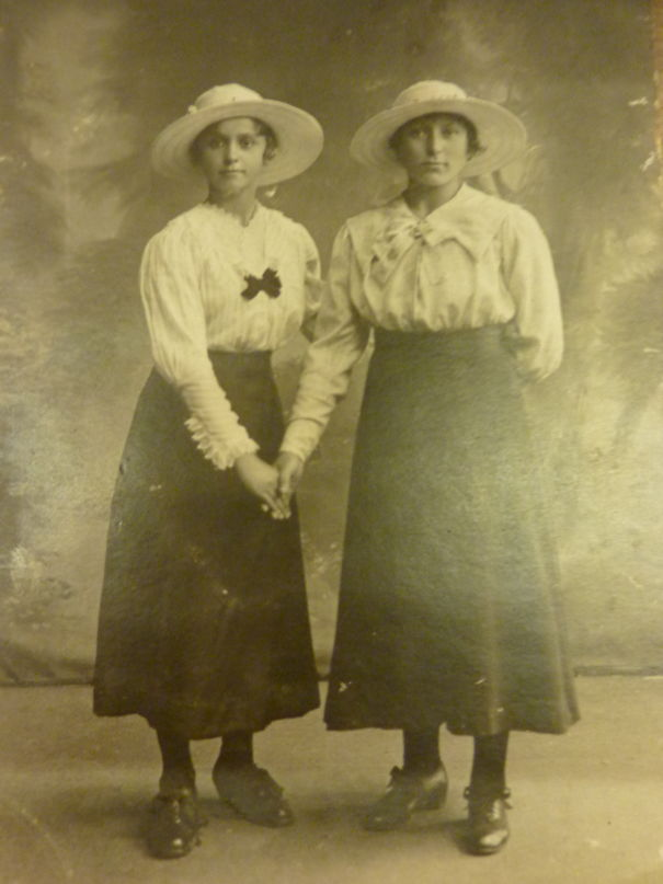 My Great-Grandma With Her Older Sister 1917, Poland