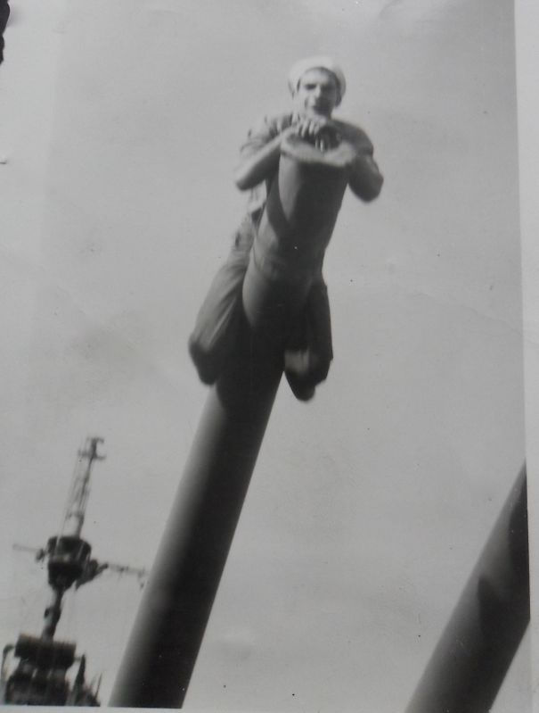 My Grandpa Jack In 1945 On The Uss Essex.
